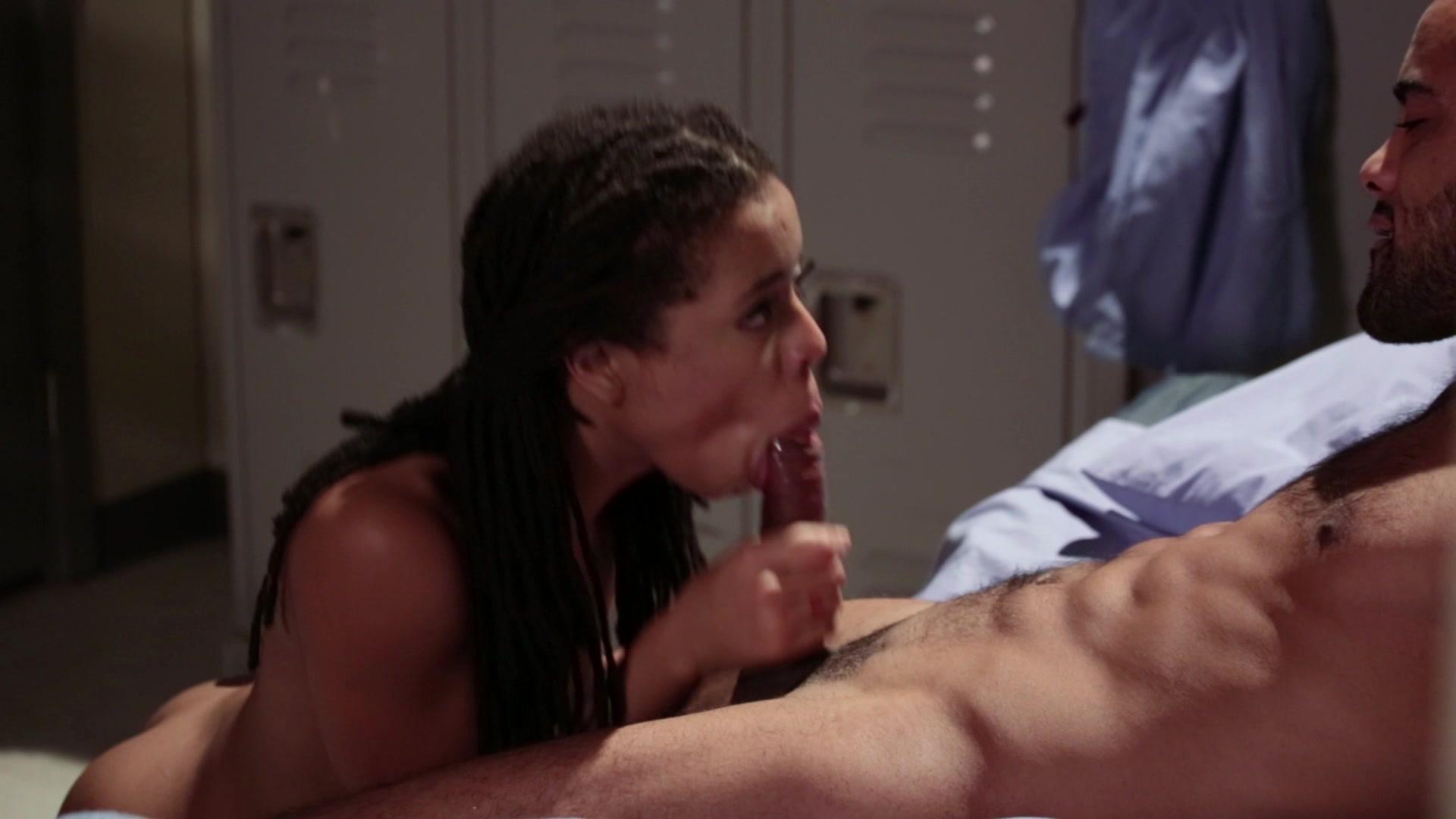 Yasmine fucks babe chanell in strapon lesbian fun 10