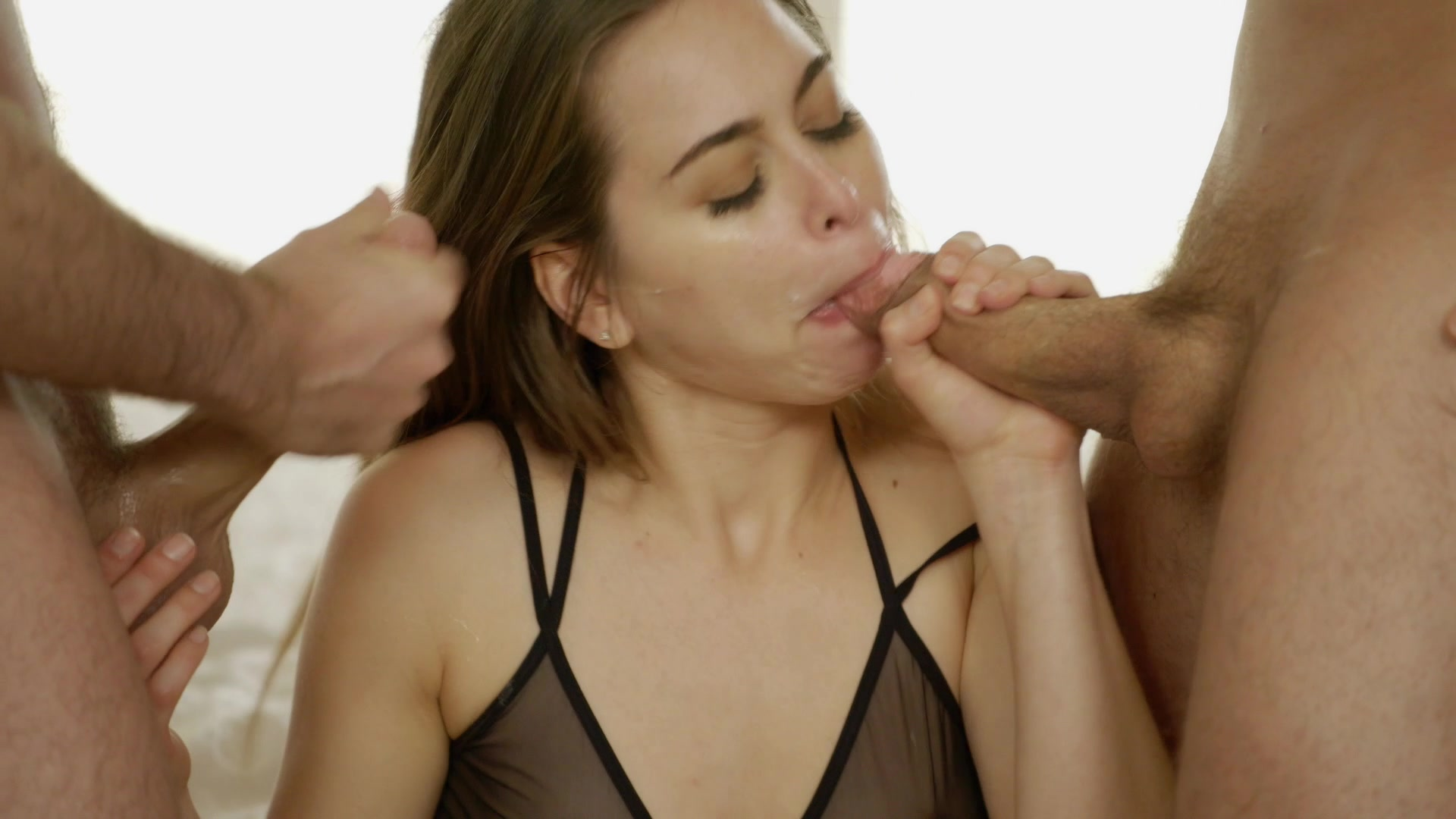 Scene with Erik Everhard, James Deen and Riley Reid - image 7 out of 20