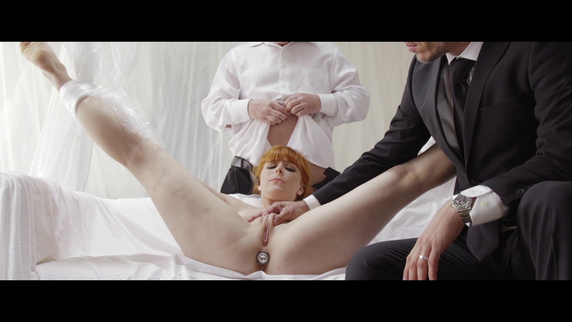 Scene with John Strong, Mick Blue and Penny Pax - image 9 out of 20