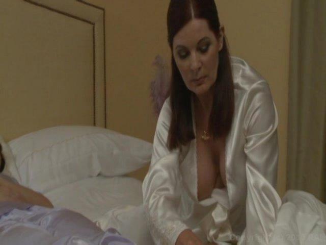 Pornstars India Summer and Brooke Lee Adams suffer forced masturbation  704902