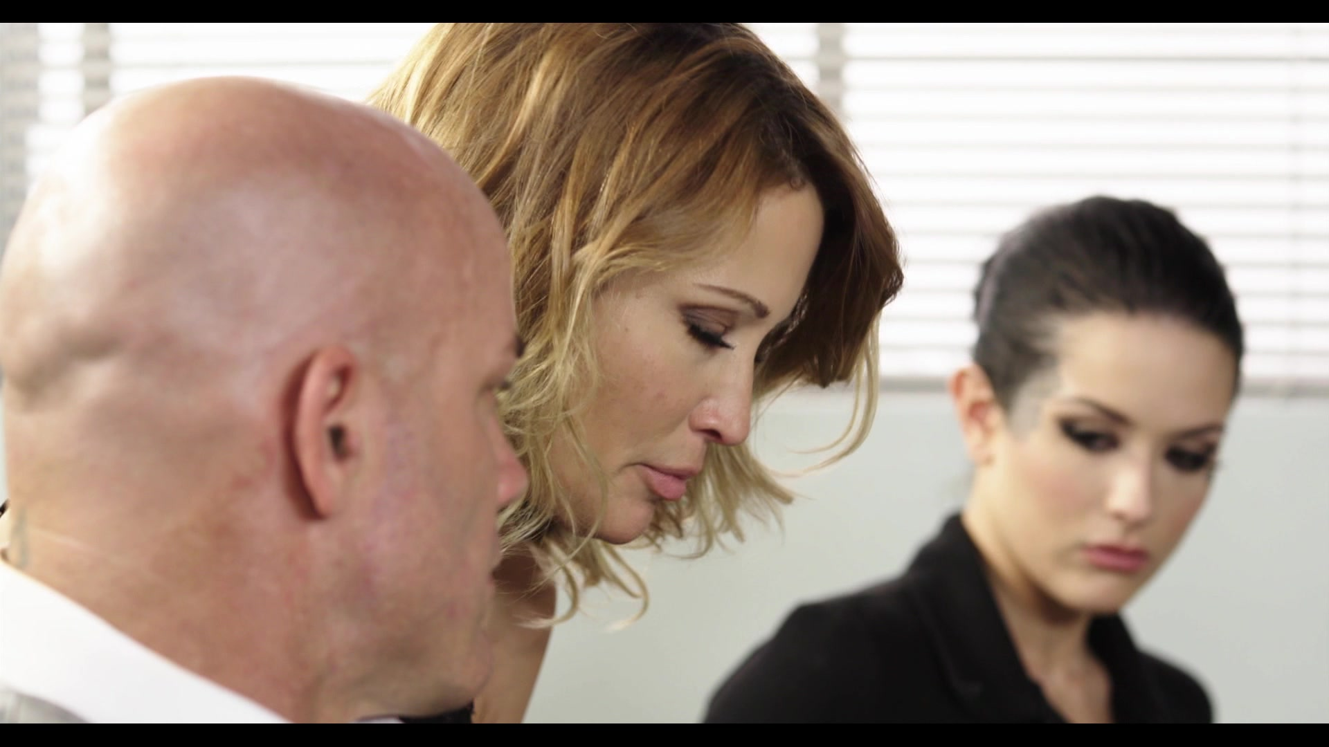 Scene with Jessica Drake, Derrick Pierce and Katrina Jade - image 8 out of 20