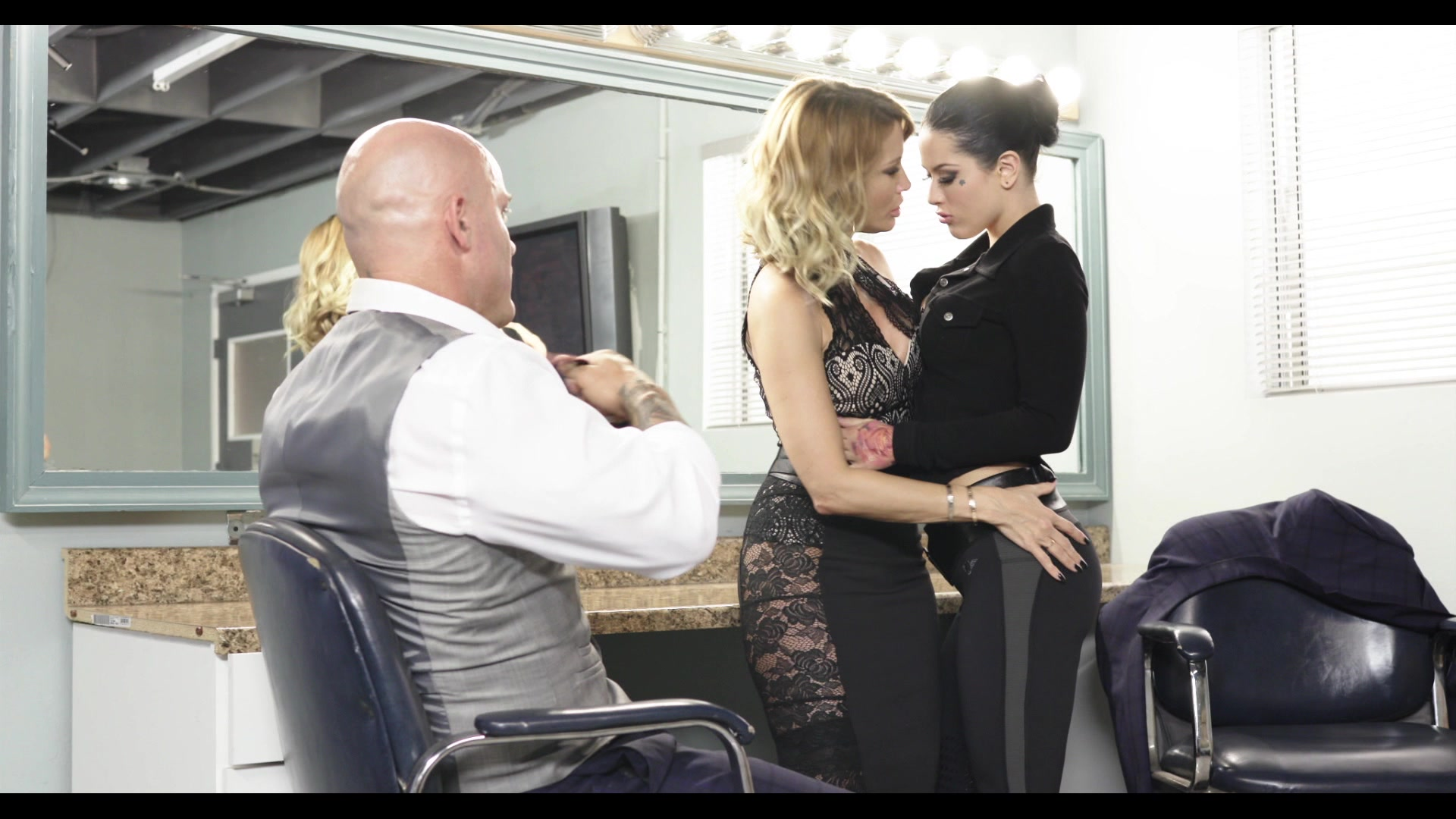 Scene with Jessica Drake, Derrick Pierce and Katrina Jade - image 9 out of 20