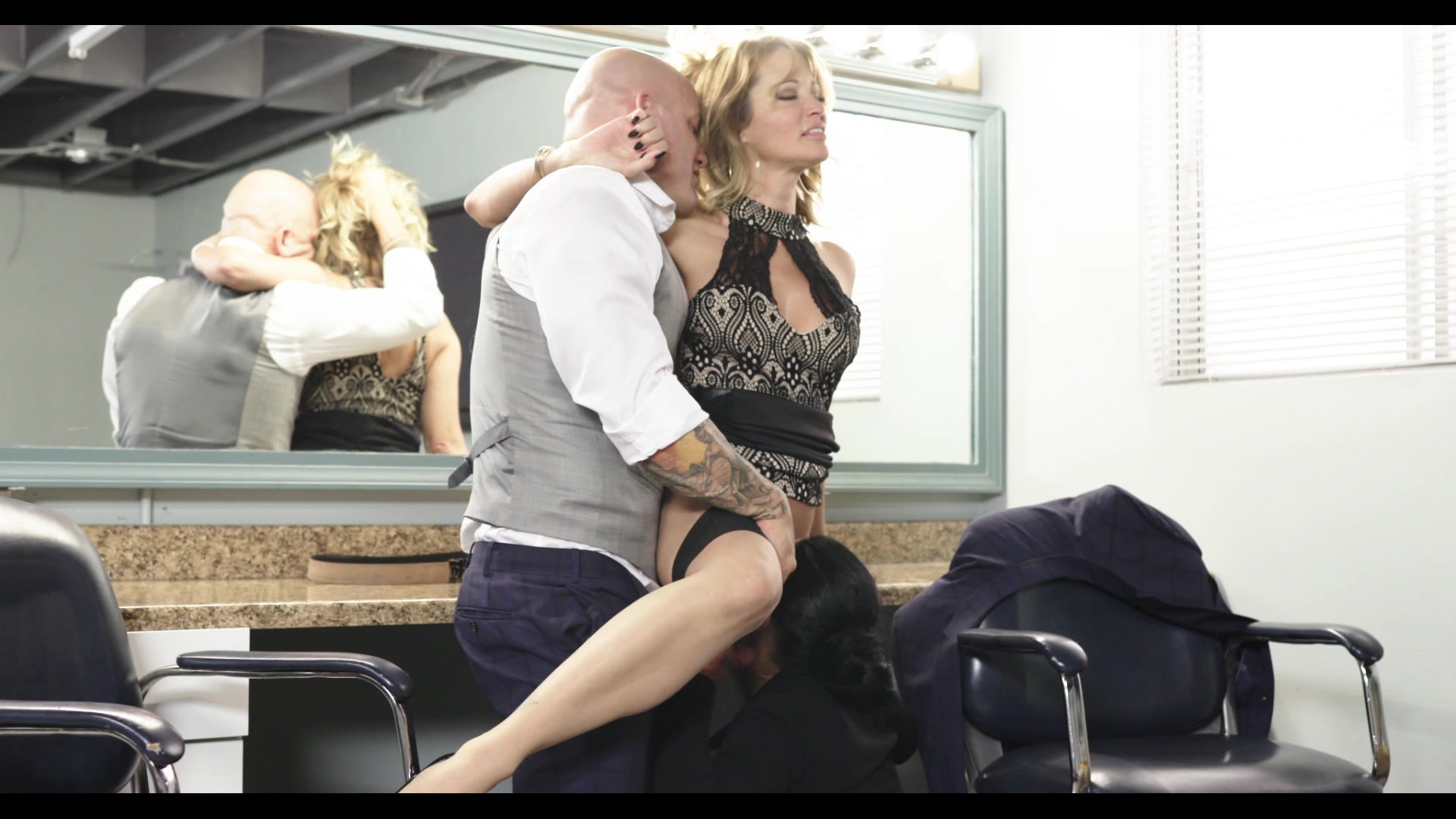 Scene with Jessica Drake, Derrick Pierce and Katrina Jade - image 14 out of 20
