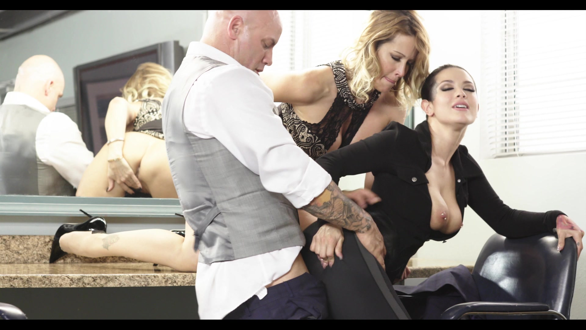 Scene with Jessica Drake, Derrick Pierce and Katrina Jade - image 18 out of 20