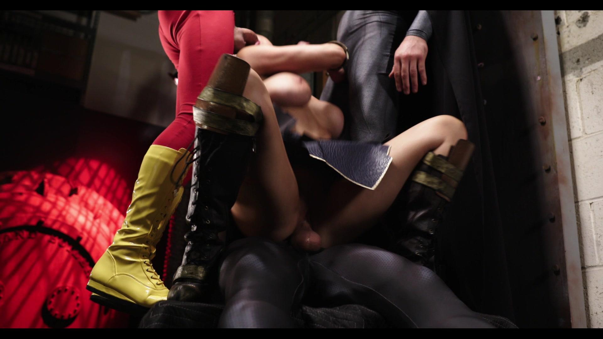 Scene with Xander Corvus, Tyler Nixon and Romi Rain - image 11 out of 20