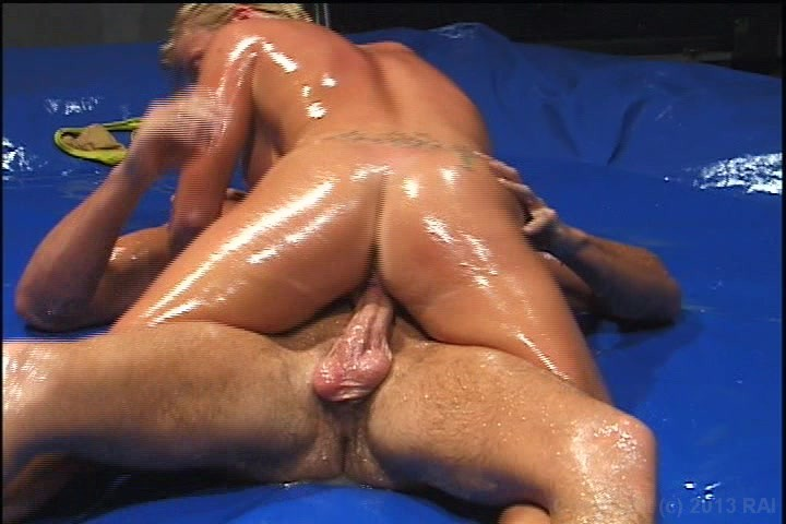 Matrock oil wrestling