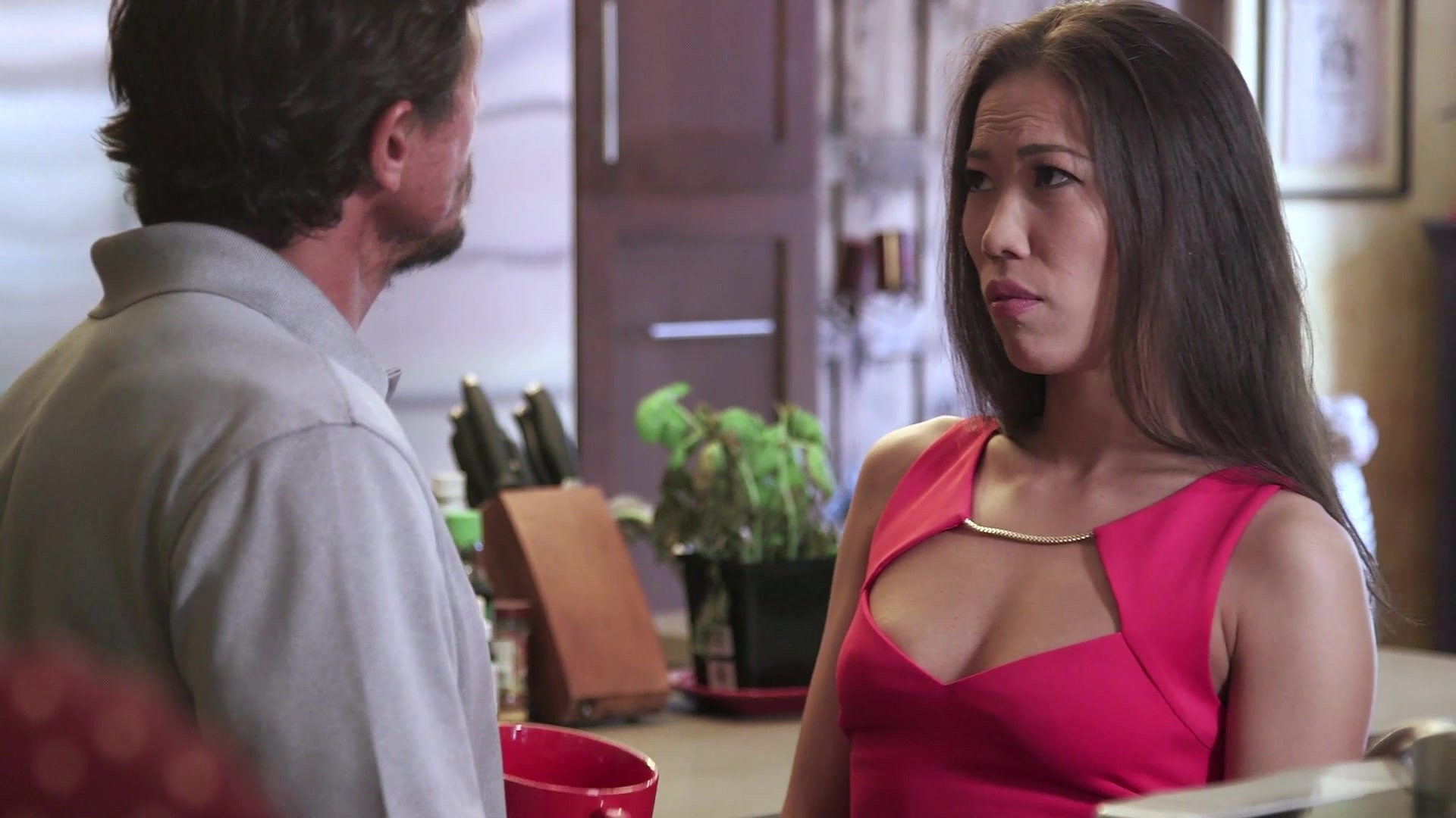 Scene with Tommy Gunn, John Strong and Kalina Ryu - image 3 out of 20