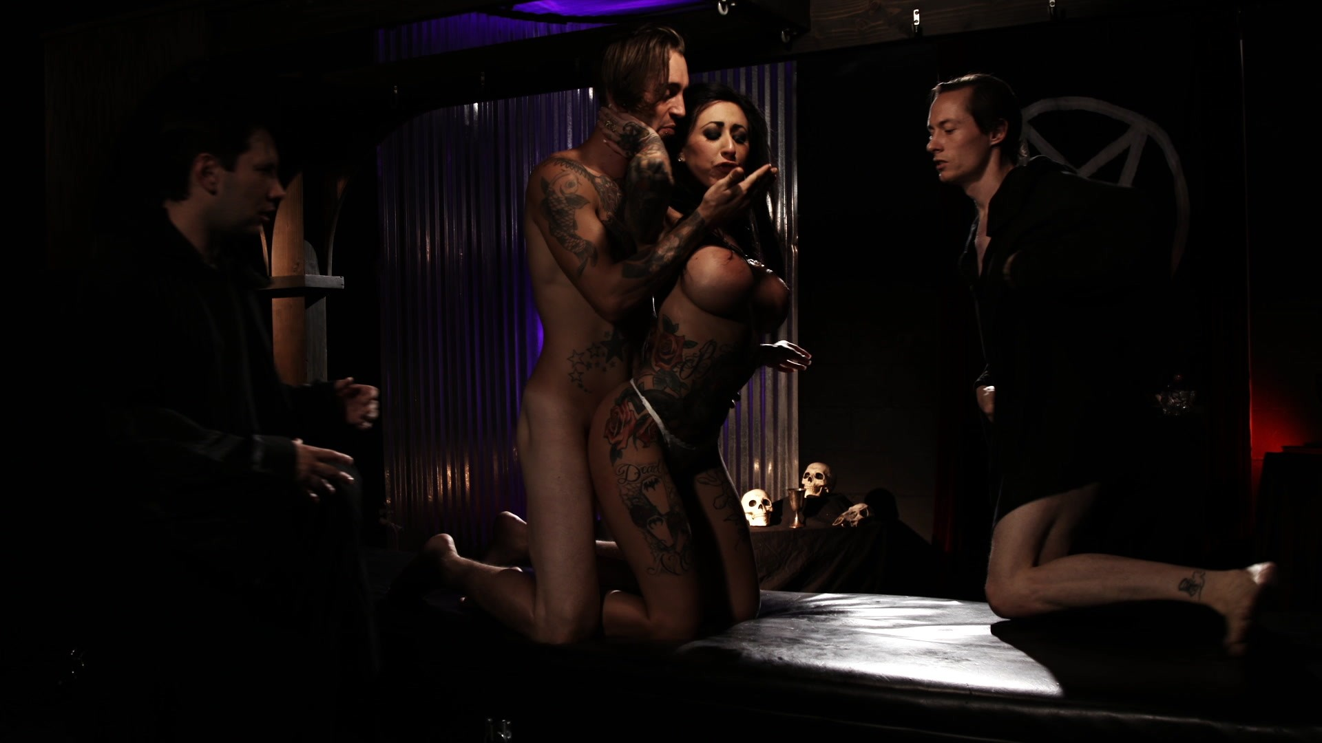 Scene with Tommy Pistol, Lily Lane and Owen Gray - image 8 out of 20