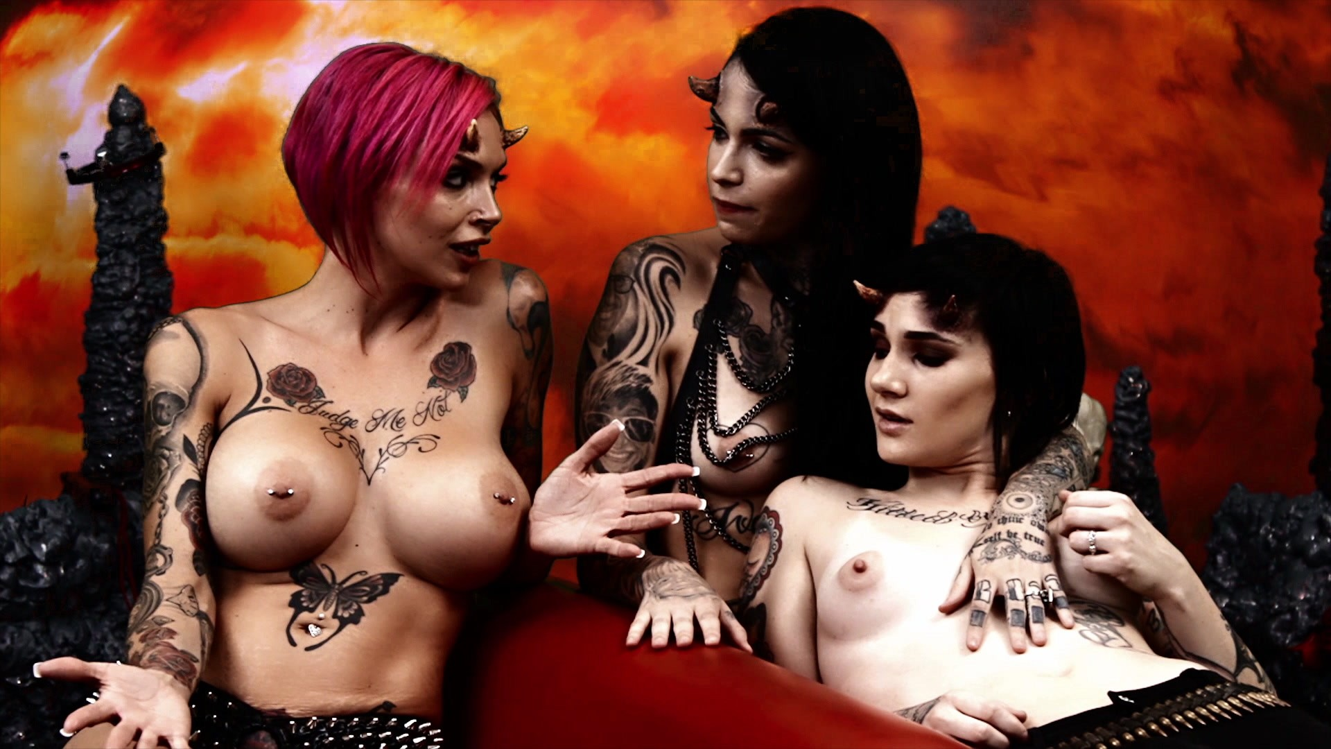 Scene with Nikki Hearts, Anna Bell Peaks and Leigh Raven - image 20 out of 20