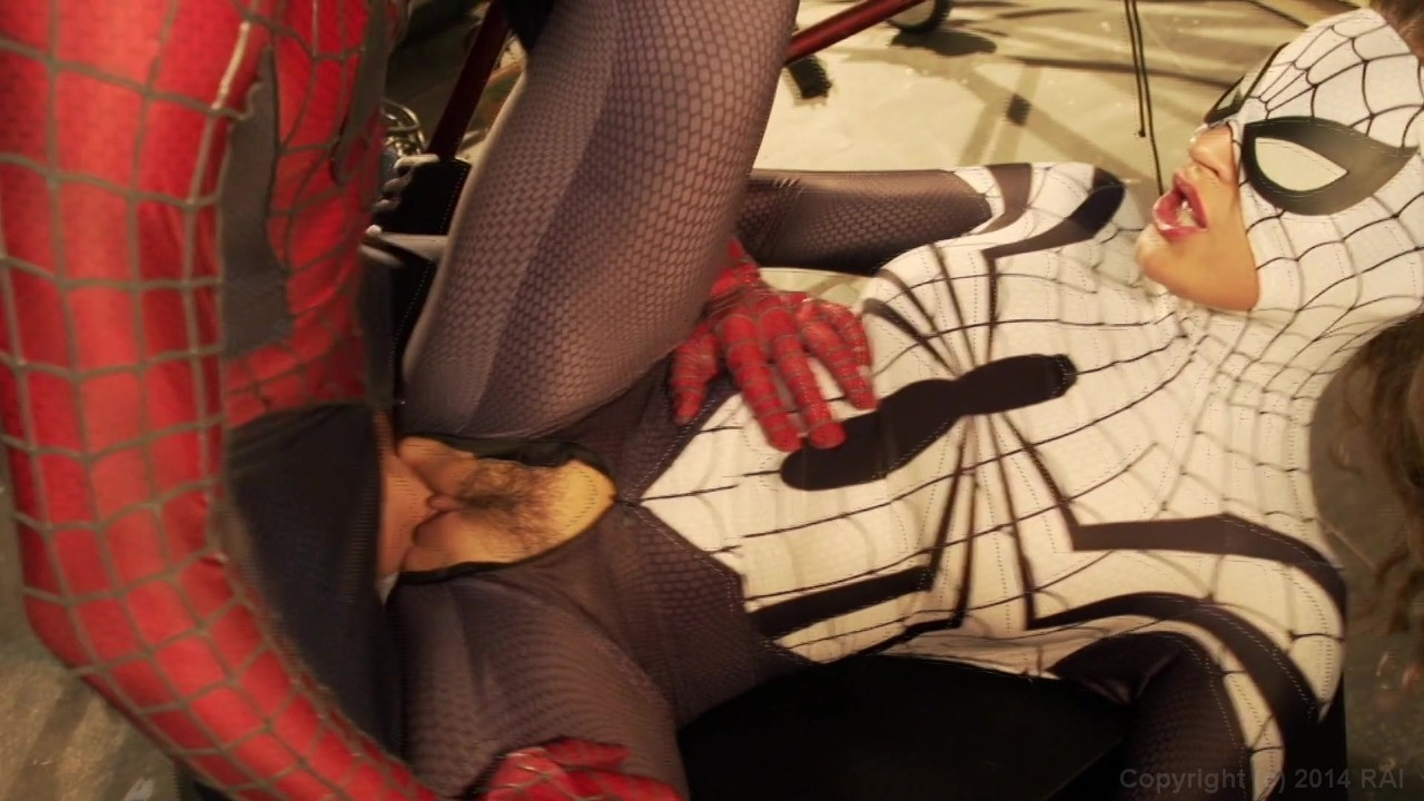 spiderman xxx