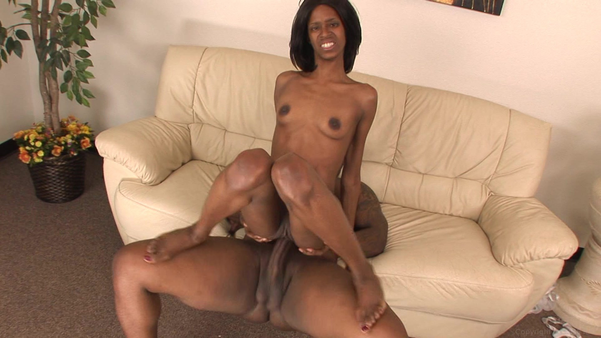 free sweet black pussy Ebony lady rubs her pussy.