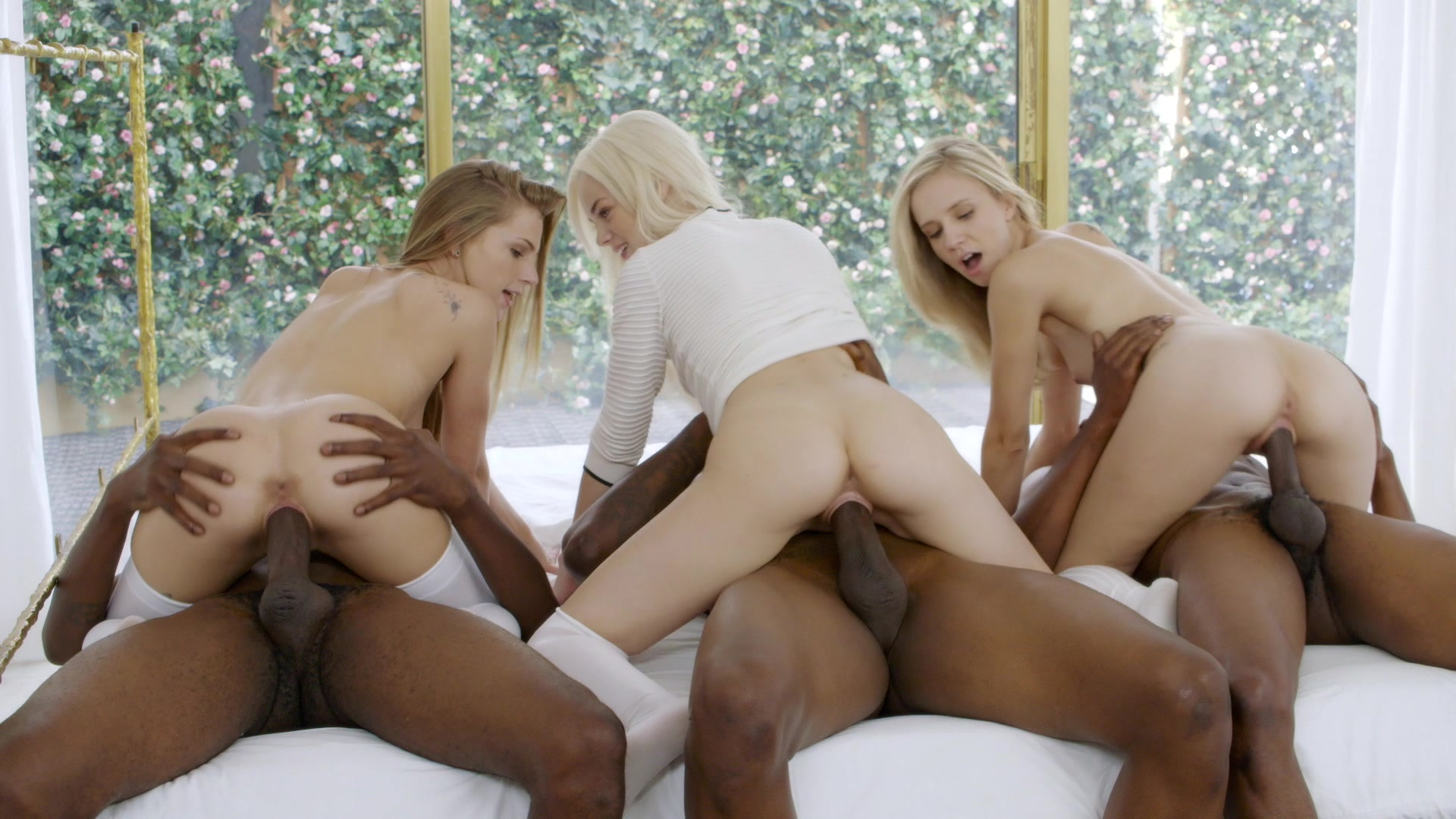 Interracial Group Porn 119