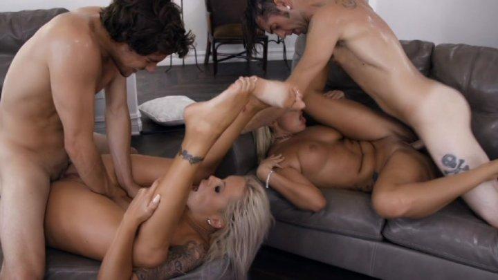 Big boob orgy 5