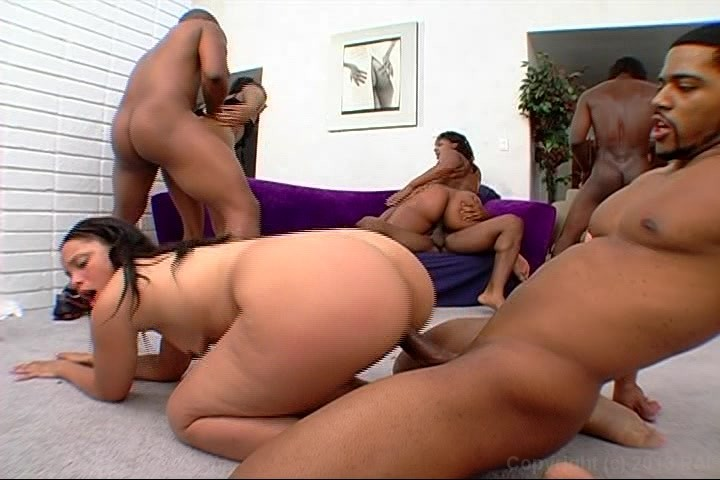 Thick ass orgy