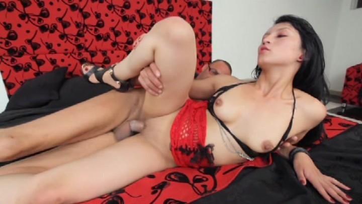 Anal dildo extreme sex