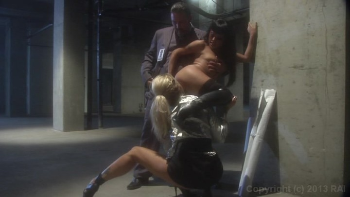 Scene with Brad Armstrong, Jessica Drake and Kaylani Lei - image 14 out of 20