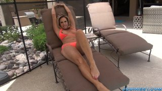 Jodi West - Summertime foot worship image three