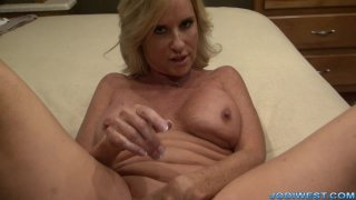 Jodi West - Cum on Jodis Pussy image one