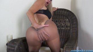 Jodi West - Hot Pantyhose Pussy  image two