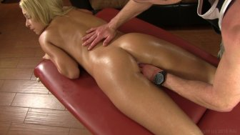 Thick Booty Massage 1 featuring Carmen Caliente Image