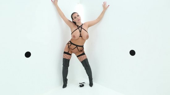 Angela White is Titwoman featuring Glory Hole Euphoria