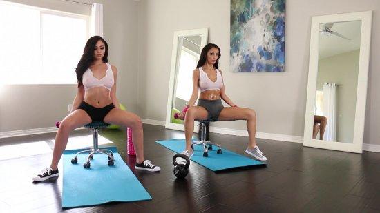 Lesbian Workout 3 featuring Ariana Marie & Sofi Ryan
