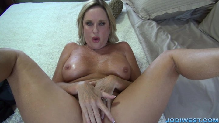 Jodi West - A creampie for step mommy image.
