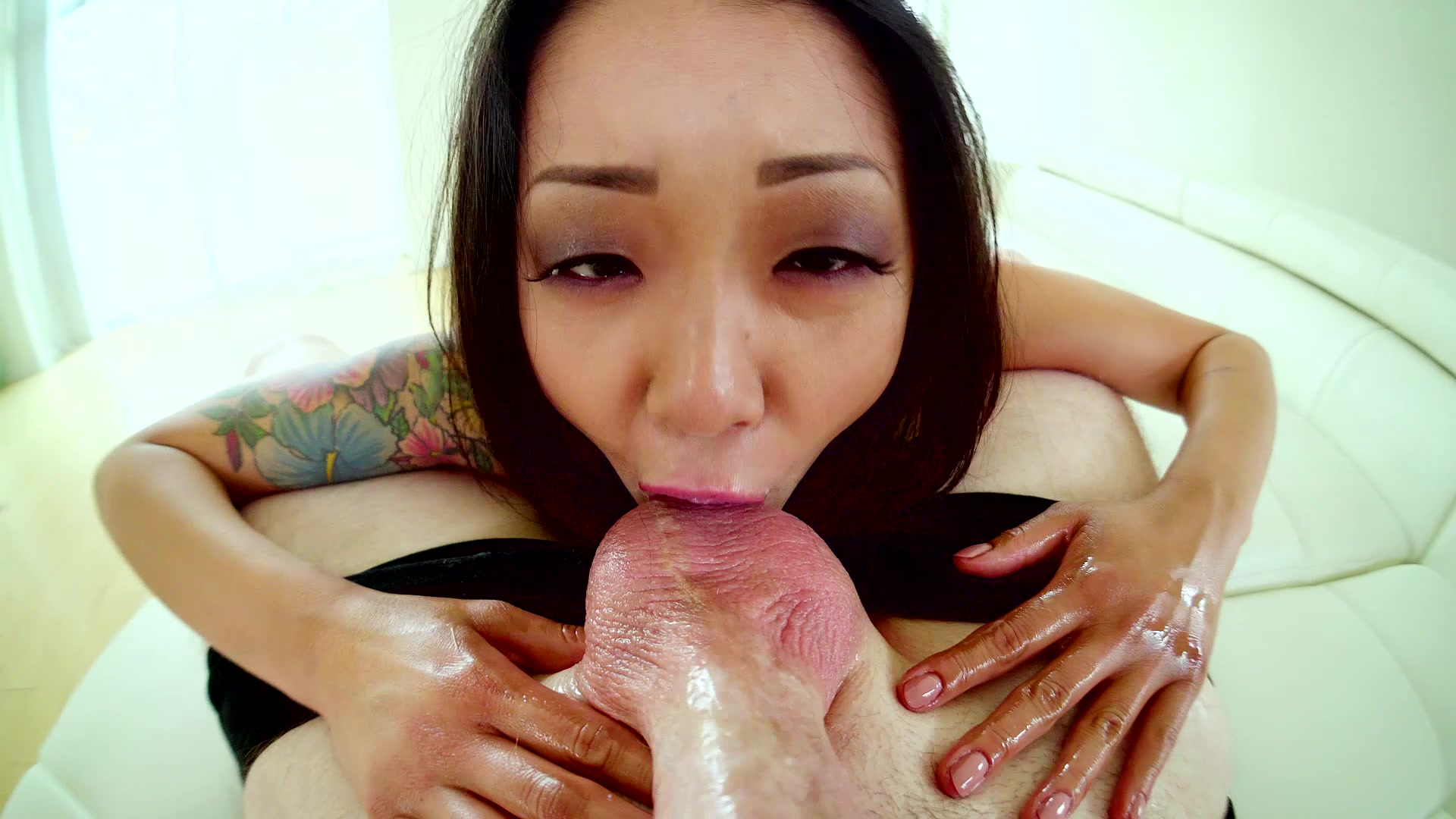 Saya song is a petite asian who squirts hard as she fucks