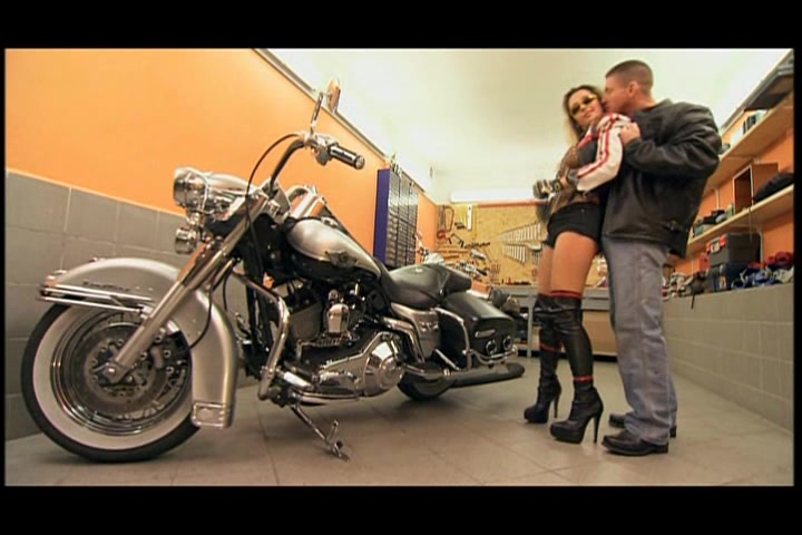 Blonde motorcycle first time anal #8