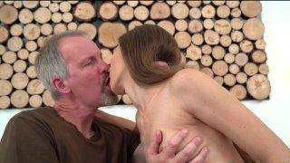 Streaming porn video still #1 from Grandpas vs. Teens #12