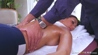 Streaming porn video still #3 from Rubbing Down A Horny Slut 3