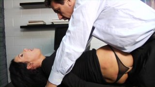 Streaming porn video still #4 from Filthy Office Sluts