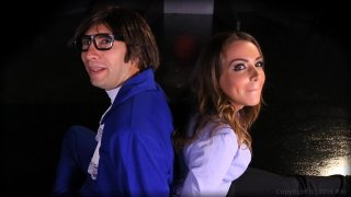 Streaming porn video still #1 from Austin Powers XXX: A Porn Parody