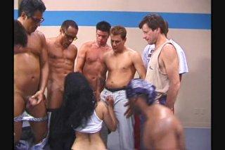 Streaming porn video still #2 from Gang Bang Angels 13