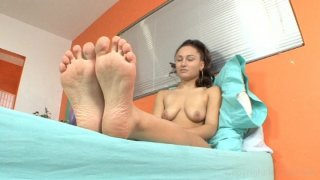 Streaming porn video still #2 from Foot Fetish Daily Vol. 19