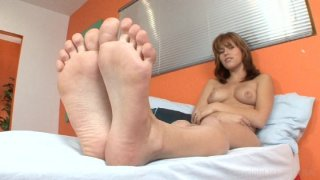 Streaming porn video still #3 from Foot Fetish Daily Vol. 19