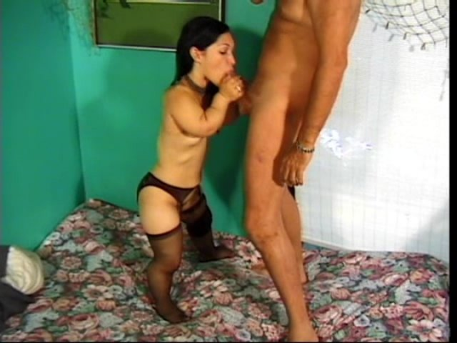 Streaming porn video still #1 from Midget DP