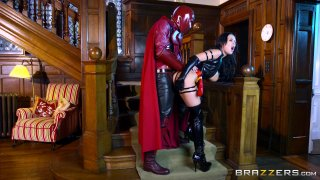 Streaming porn video still #3 from Brazzers Presents: The Parodies 6
