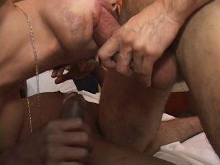 Streaming porn video still #8 from Big Black Cock Attack