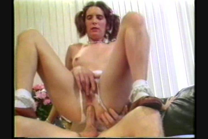 Chubby girlfriend anal tube