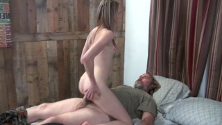 Streaming porn video still #5 from Gangbang My Daughter With Me!