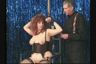 Streaming porn scene video image #7 from Bound And Gagged Slut Gets Milked