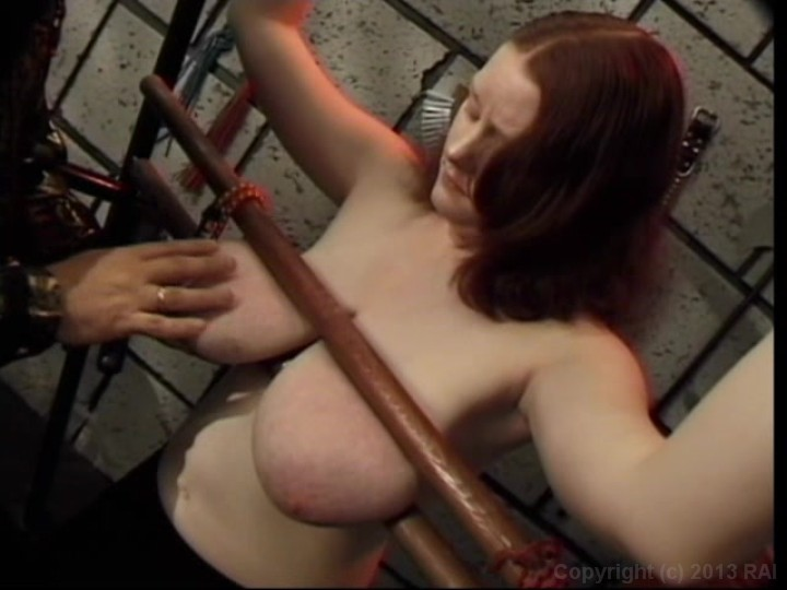 Woman getting ready for anal