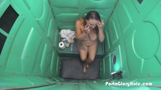 Streaming porn video still #9 from Real Public Glory Holes 2