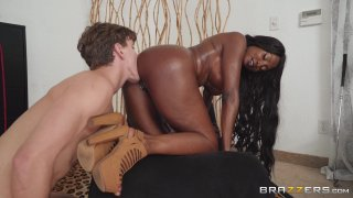 Streaming porn video still #8 from Brazzers Goes Black 2: The MILF Edition