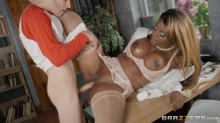 Streaming porn video still #4 from Brazzers Goes Black 2: The MILF Edition