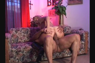 Streaming porn video still #7 from White Asses Swallow Chocolate Cocks