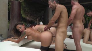 Streaming porn video still #8 from Rocco Siffredi Hard Academy Part 4 . . . Goes Live