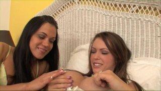 Streaming porn video still #1 from Lesbian Butt Munchers 3
