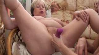 Streaming porn video still #9 from Mature British Lesbians #1